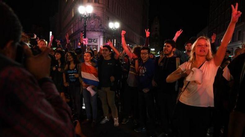 Après les présidentielles, manifestations anti-Trump aux Etats-Unis (PHOTOS, VIDEOS)
