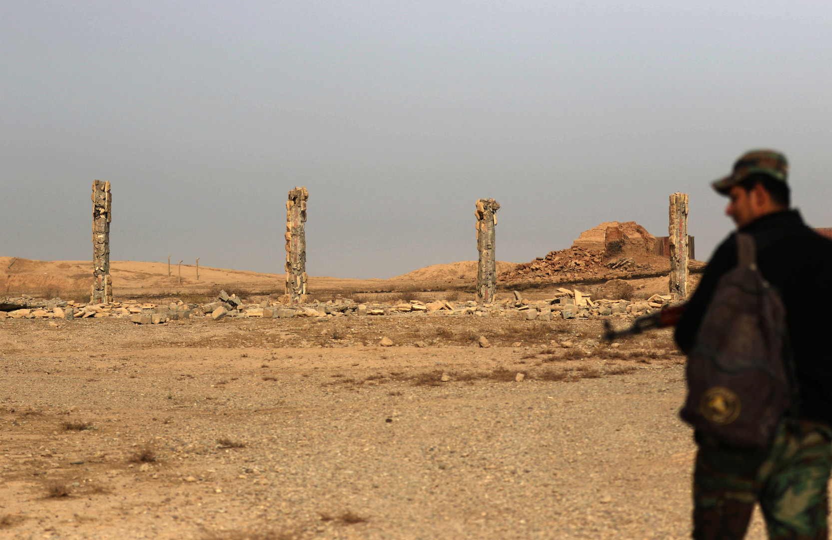 De la cité antique et plurimillénaire de Nimroud , «il ne reste plus rien» (PHOTOS)