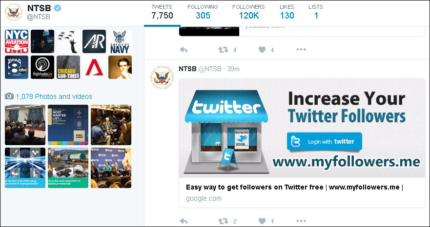 Les comptes Twitter du Croissant Rouge, ainsi que de plusieurs médias et célébrités piratés