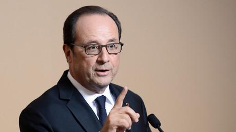 Caen : devant l'université, les syndicats attendent Hollande de pied ferme