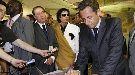Claude Guéant, Nicolas Sarkozy et Mouammar Kadhafi sont-ils liés par un financement illicite ?