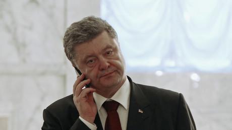 Le président ukrainien Petro Porochenko «victime» d'un canular téléphonique