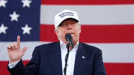 Donald Trump à Miami, le 2 novembre 2016, ©Carlo Allegri/Reuters