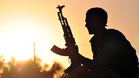 Un combattant de l'YPG kurde, en Syrie (photographie d'illustration)