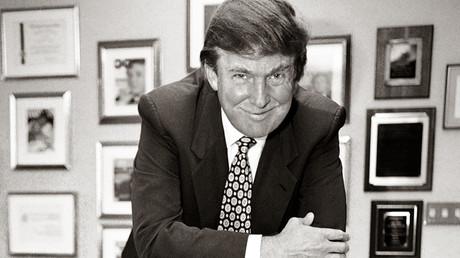 Donald Trump en 1996, Photo ©TIMOTHY A. CLARY / AFP