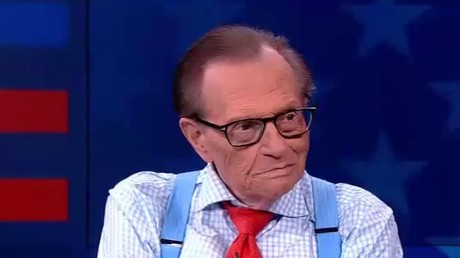 Larry King dans le studio de RT