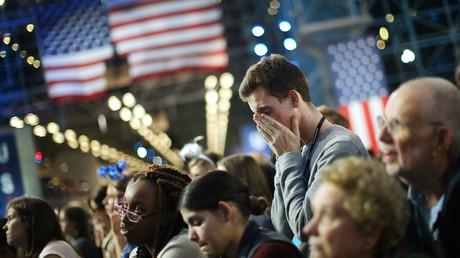 Des partisans d'Hillary Clinton