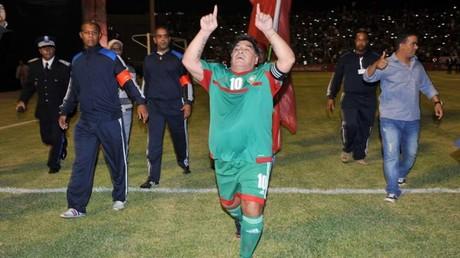 Maroc : Maradona dément avoir été payé 185 000 euros pour un match de gala