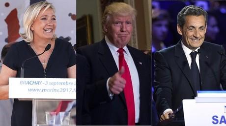 Marine Le Pen et Nicolas Sarkozy, grands gagnants français de l'élection de Donald Trump ?