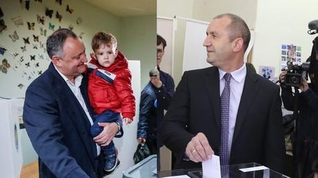 La Moldavie et la Bulgarie ont élu des présidents socialistes et pro-russes