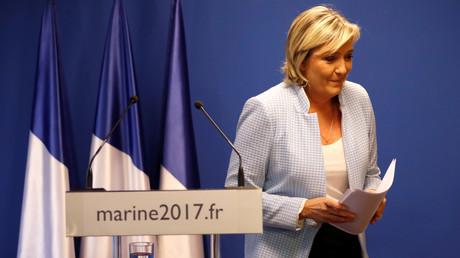 Marine Le Pen a inauguré son nouveau QG de campagne le 16 novembre et il se situe tout près... de l'Elysée