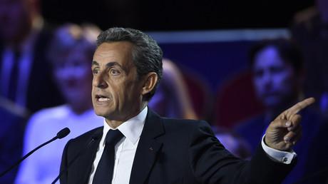Nicolas Sarkozy lors du 2e débat de la primaire