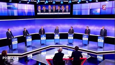 Primaire de la droite : suivez en direct le troisième débat crucial entre les candidats