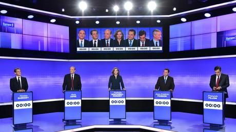 Le troisième débat de la primaire de la droite et du centre, jeudi 18 novembre