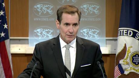 Le porte-parole du département d'Etat américain John Kirby