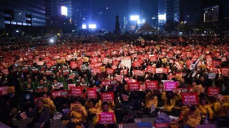Des manifestations monstres contre la présidente sud-coréenne se succèdent à Séoul