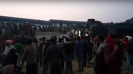 Le déraillement d'un train dans le nord de l'Inde