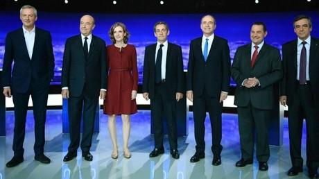Primaire de la droite et du centre : Fillon largement en tête, Sarkozy reconnait sa défaite