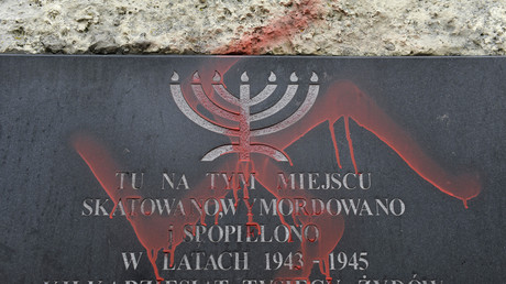 Un Polonais écope de dix mois de prison ferme pour avoir brûlé un mannequin représentant un juif