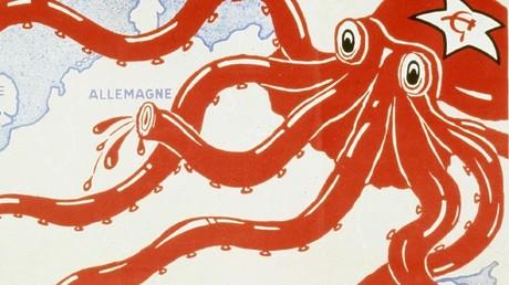 Affiche anti-communiste française de l'entre-deux-guerres