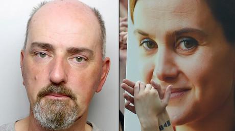 La députée travailliste pro-européenne Jo Cox (à droite sur l'image) avait été tuée en pleine campagne sur le Brexit par l'extrémiste Thomas Mair (à gauche sur l'image)