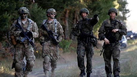 Des soldats polonais participent à l'entraînement «Anakonda» de l'OTAN en juin 2016
