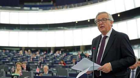Jean-Claude Juncker au Parlement européen