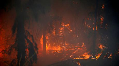 Incendies sans précédent font rage en Israël