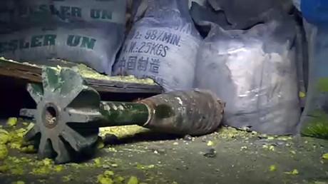 Les experts russes présentent les résultats de leur analyse d'obus lancés par les terroristes près d'Alep