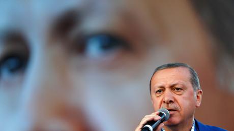 Recep Erdogan, président de la Turquie