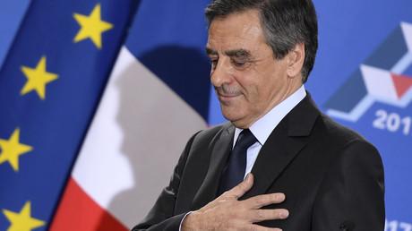 Le candidat de la droite, François Fillon