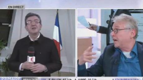 Daniel Cohn-Bendit et Jean-Luc Mélenchon