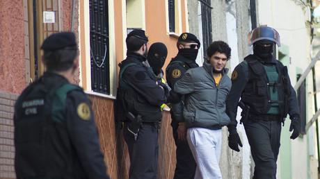 Arrestations en février 2015 d'un recruteur présumé pour Daesh dans l'enclave espagnole de Melilla