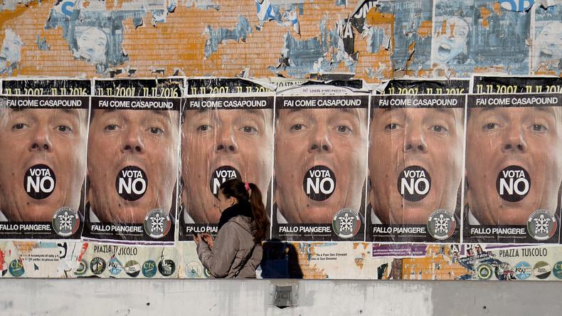 """Campagne pour le """"non"""" au référendum"""