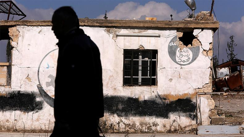 Un poste de Daesh abandonné dans le quartier d'Hanono d'Alep-Est, repris par l'armée syrienne, photo ©Omar Sanadiki/Reuters