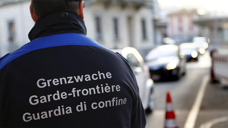 Garde-frontière suisse, photo©Denis Balibouse/Reuters