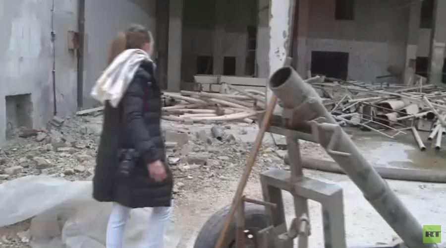 Alep : l'équipe de RT est la première à atteindre une zone libérée de la vieille ville (VIDEO)