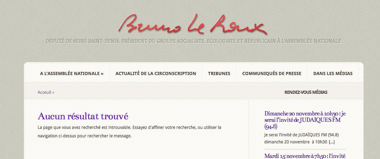Bilan de compétences : Bruno Le Roux n'aurait pas fait HEC, contrairement à ce qu'indique son CV