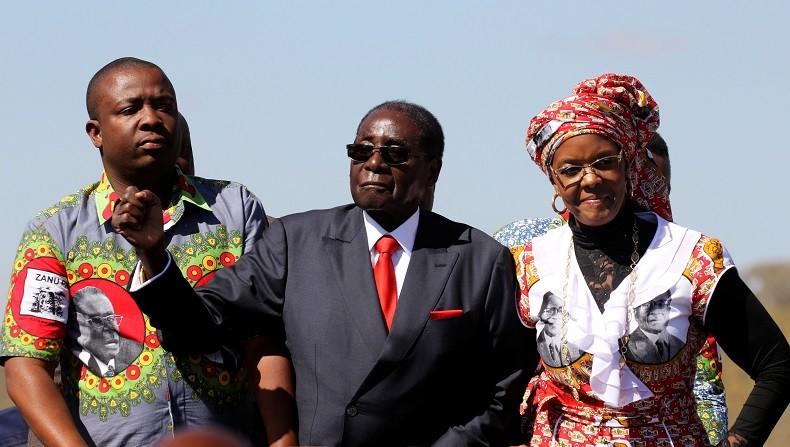 Zimbabwe : Robert Mugabe est sûr de remporter une énième élection présidentielle... à 93 ans !