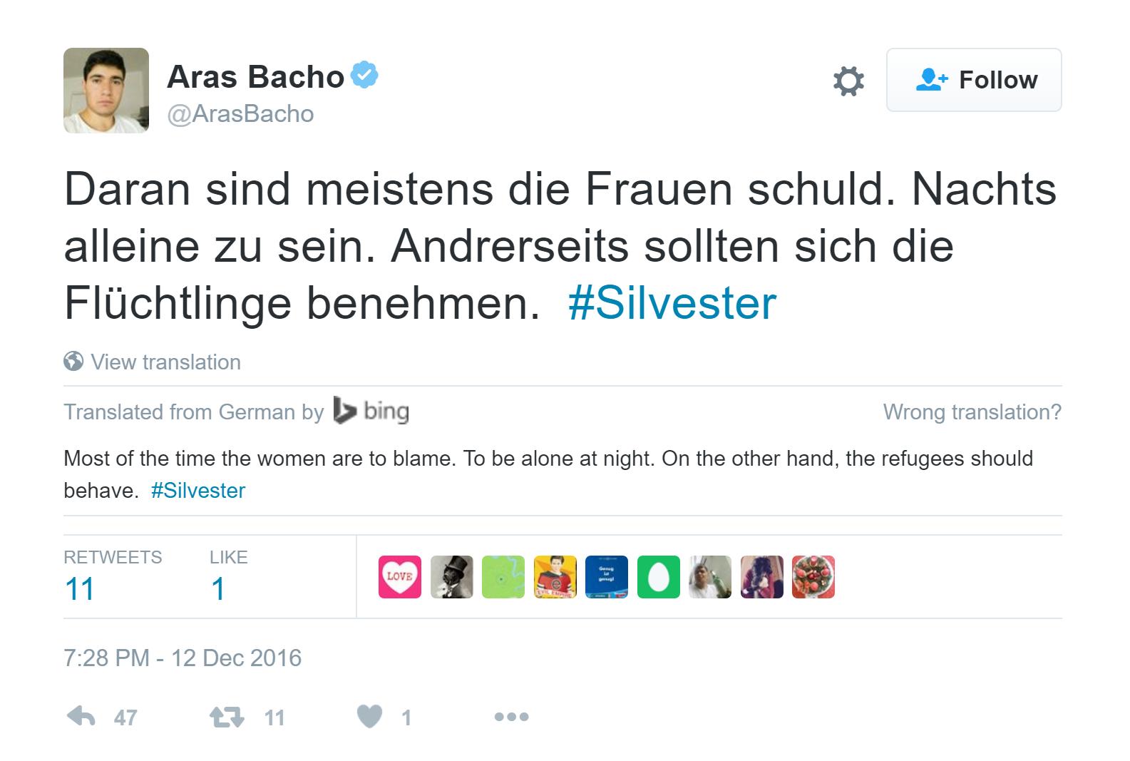 Cologne : un réfugié syrien invité par le Huffington Post aurait blâmé les victimes de viol