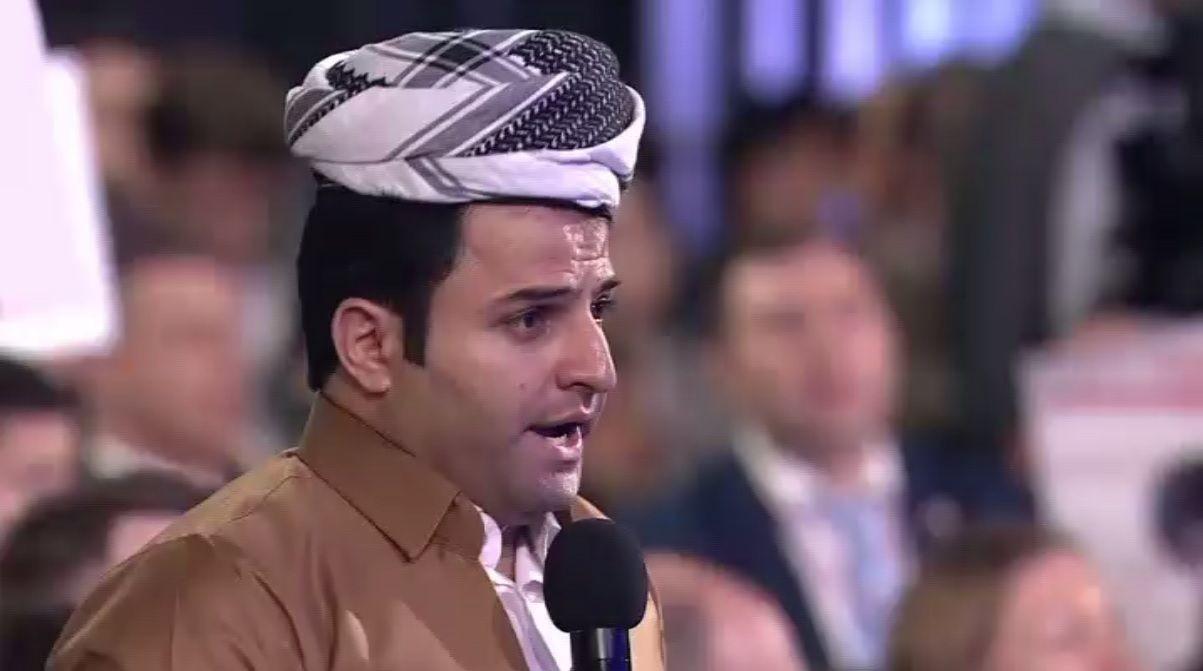 Un journaliste du Moyen-Orient