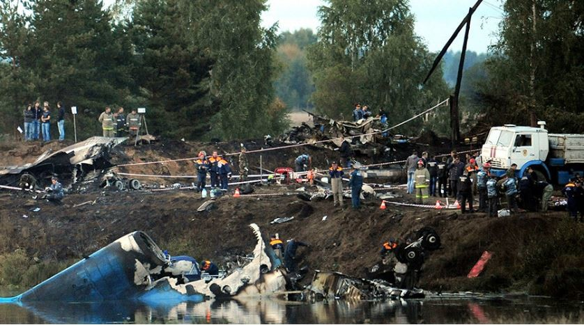 Les récents accidents d'avion tragiques en Russie (PHOTOS)