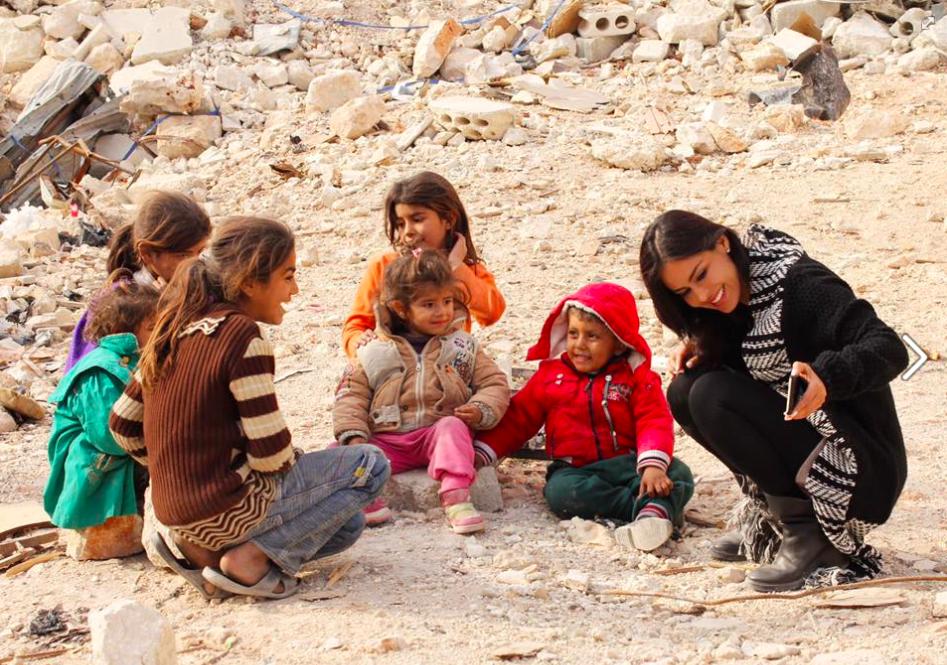 Une actrice bolivienne de retour de Syrie met à mal la version des médias occidentaux sur Alep