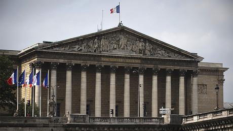 Les députés débattent de l'extension du délit d'entrave à l'IVG à l'Assemblée nationale, ©JOEL SAGET / AFP