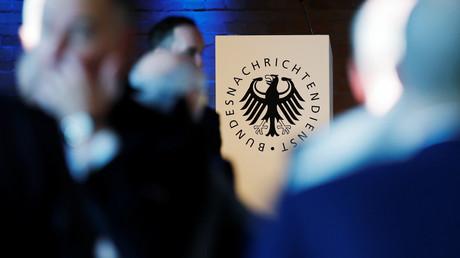 Le logo des services secrets allemands, le Bundesamt für Verfassungsschutz (BfV)