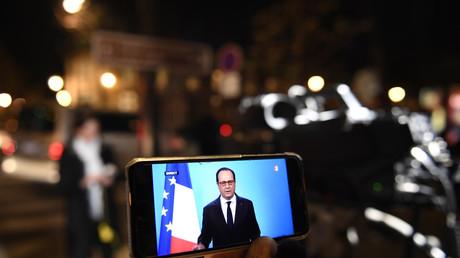 Le discours de François Hollande regardé en direct