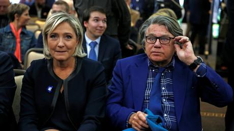 Marine Le Pen et Gilbert Collard