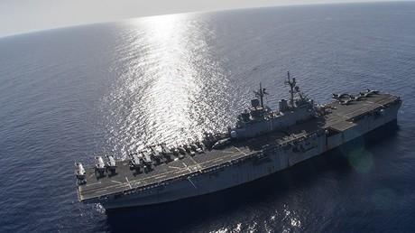 Washington annonce l'arrivée de deux navires de guerres et de 4 000 hommes en Méditerranée