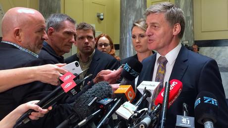 Le Premier ministre sortant John Key