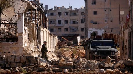 Alep, la deuxième plus grande ville de la Syrie